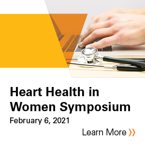 Heart Health in Women Symposium 2021 Banner